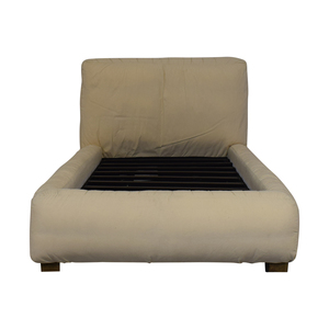 Restoration Hardware Restoration Hardware Sona Upholstered Platform Twin Bed used