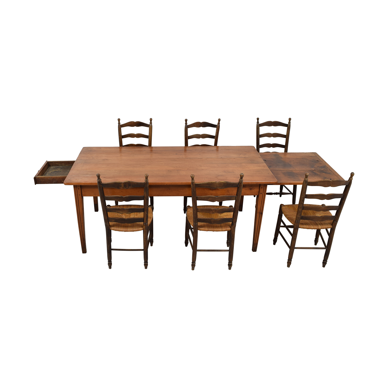 shop Wood Dining Set with Pullout Extension  Dining Sets