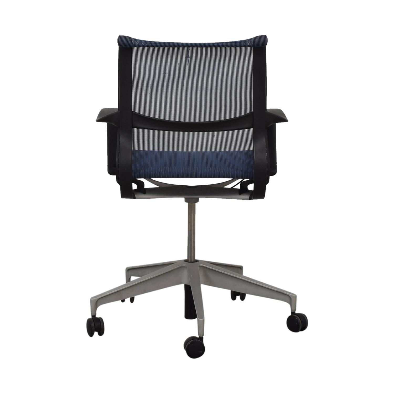 Herman Miller Setu Blue Desk Chair Home Office Chairs