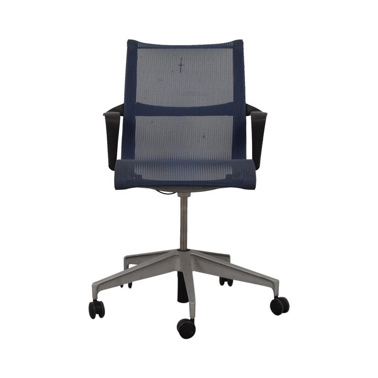Herman Miller Herman Miller Setu Blue Desk Chair discount