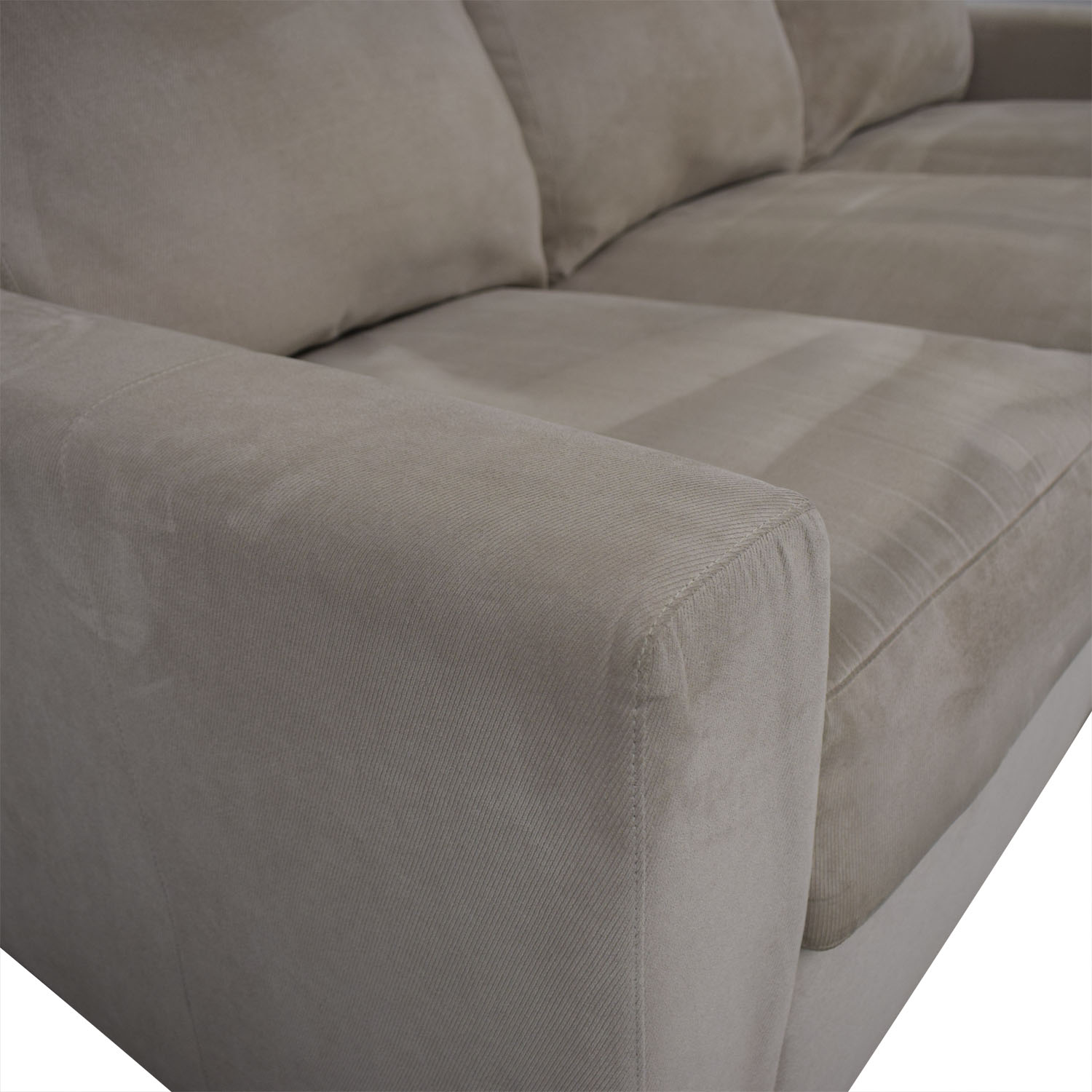 buy Room & Board Three Cushion Sofa Room & Board Classic Sofas