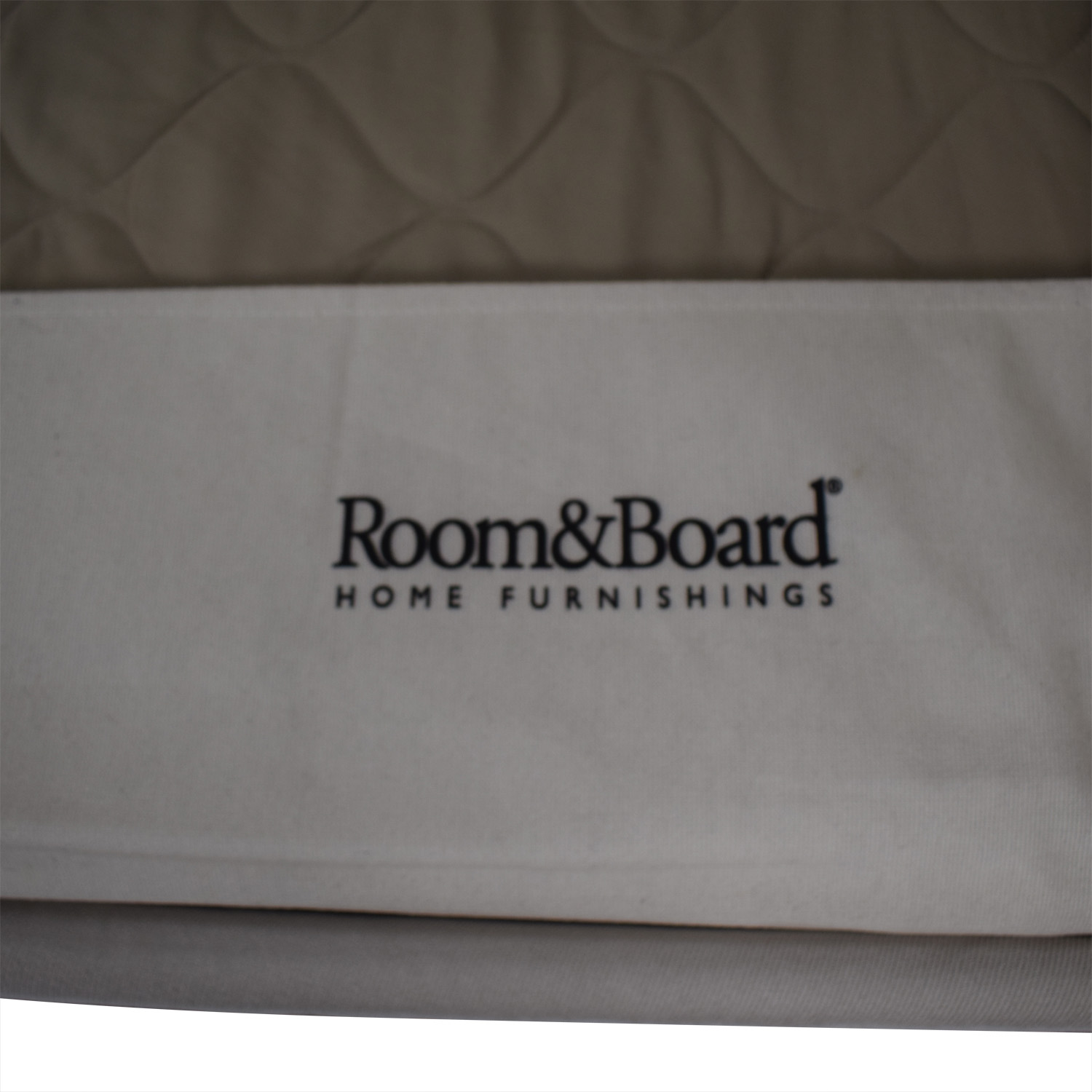 Room & Board Room & Board Three Cushion Sofa white