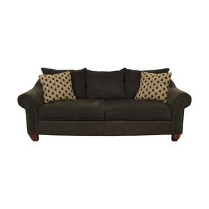 Raymour & Flanigan Raymour & Flanigan Two-Cushion Sofa discount