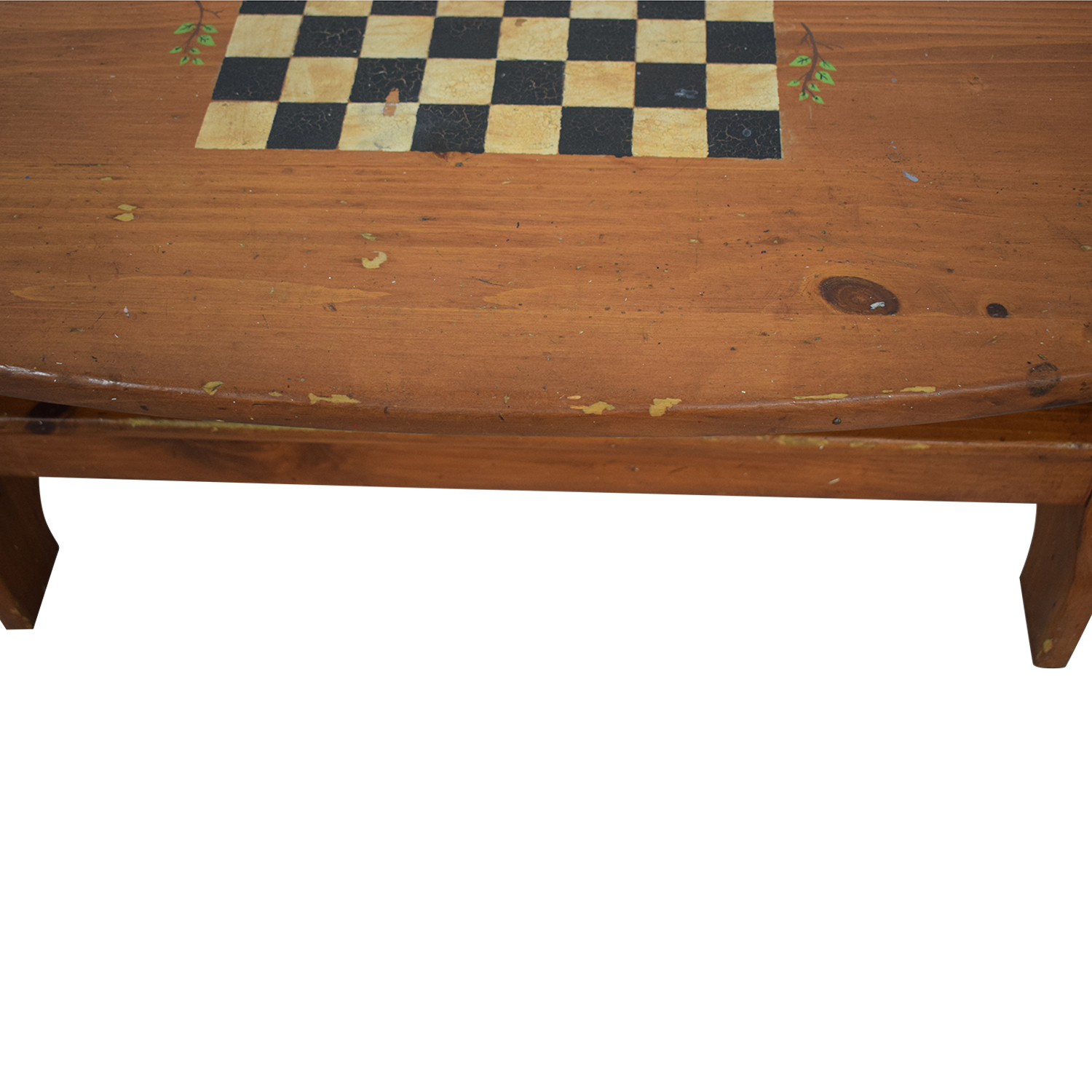 Wood Checkerboard Coffee Table price