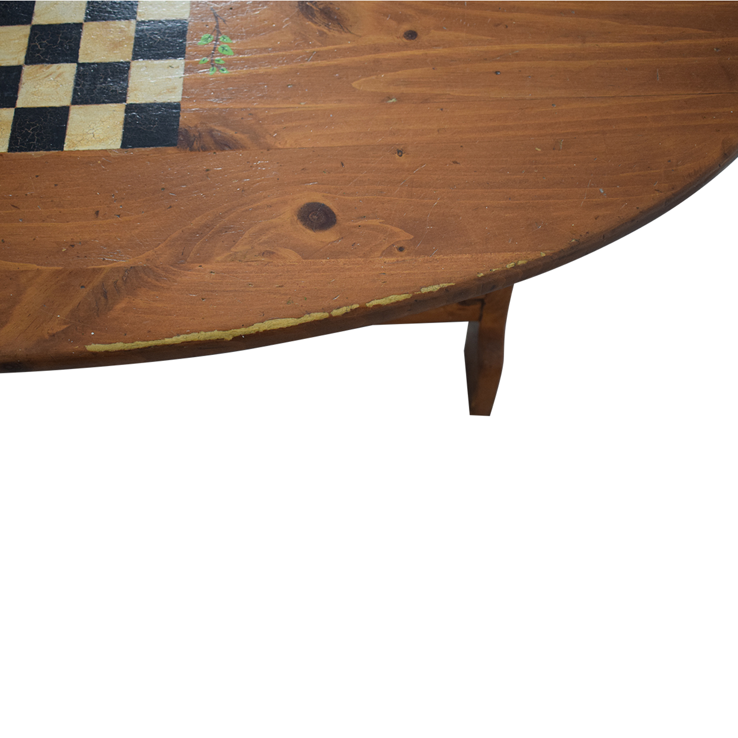 shop Wood Checkerboard Coffee Table  Coffee Tables