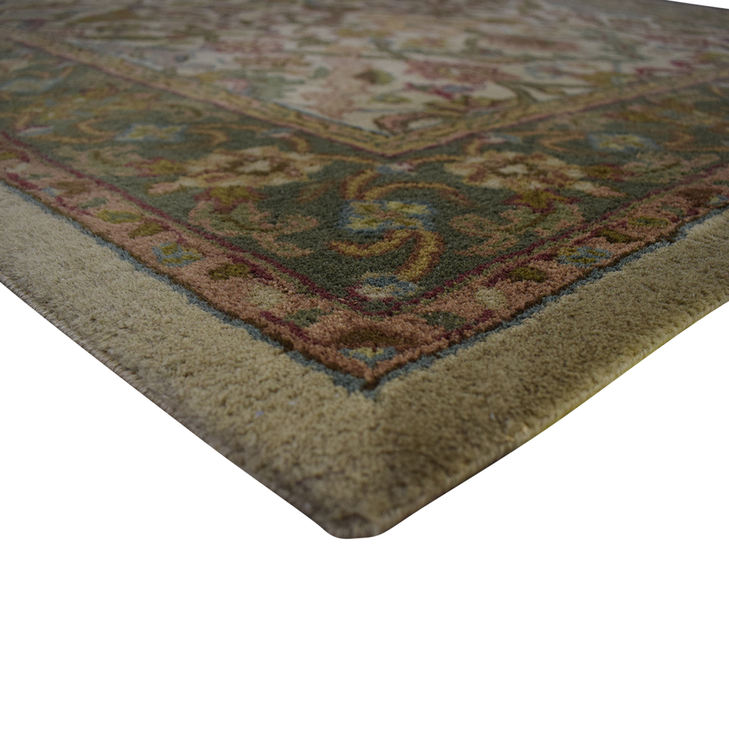 Olive and Beige Rug oriental