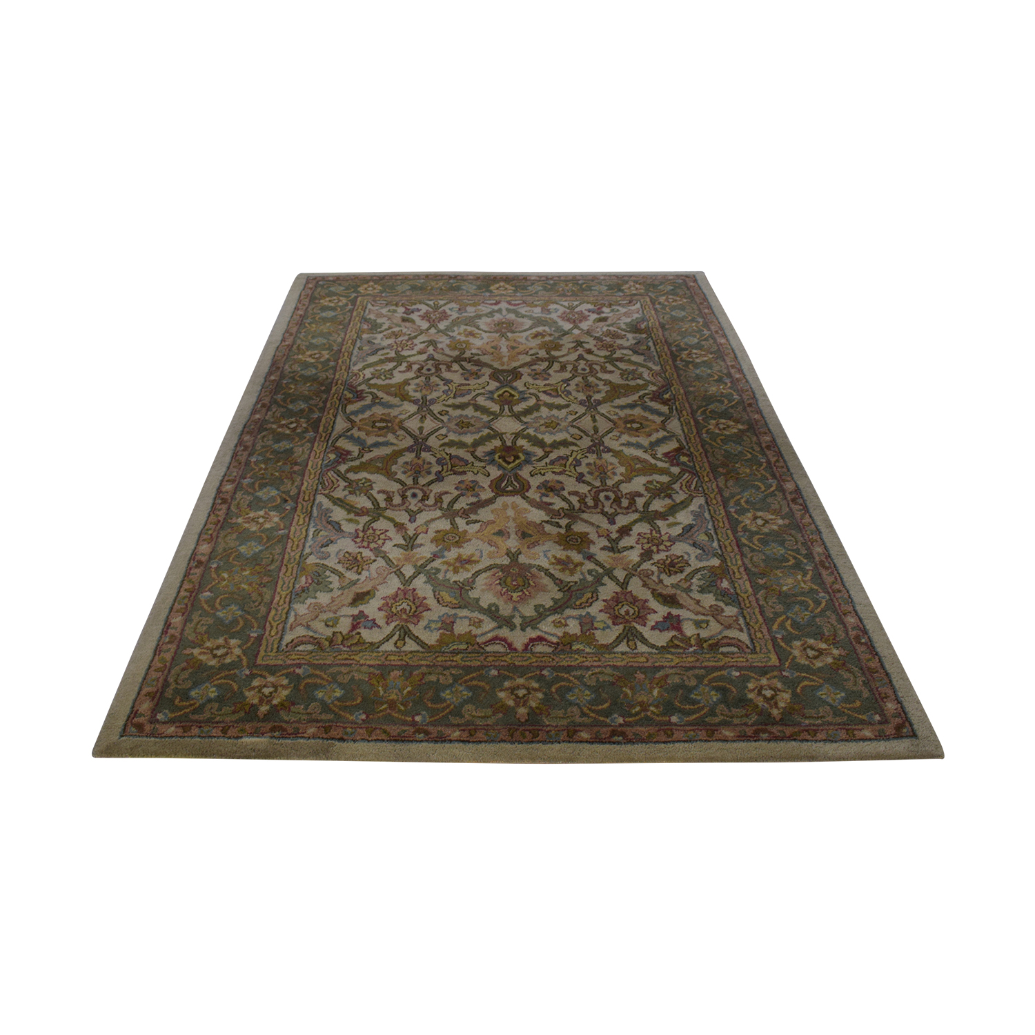 Olive and Beige Rug Rugs