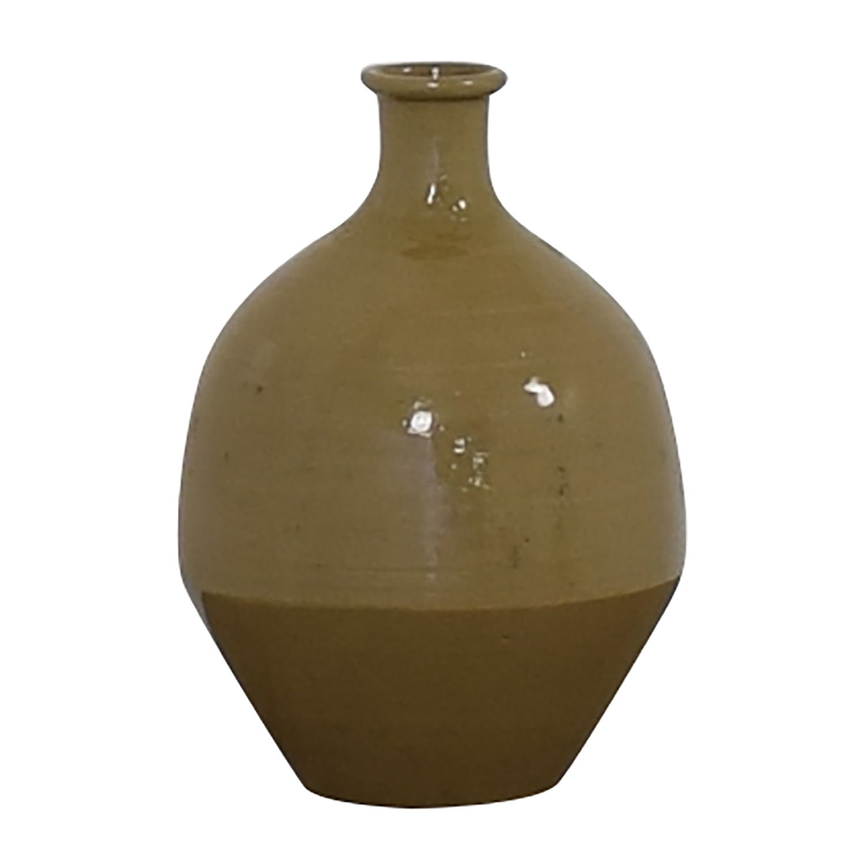 shop Pottery Barn Pottery Barn Beige Ceramic Vase online