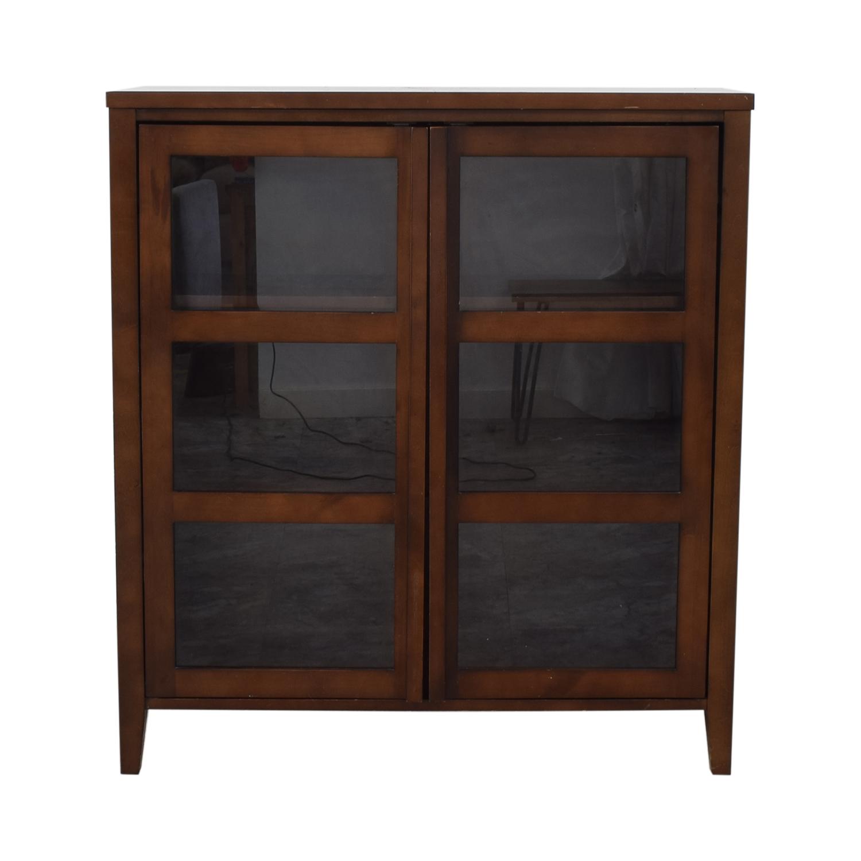 Crate & Barrel Media Cabinet Crate & Barrel