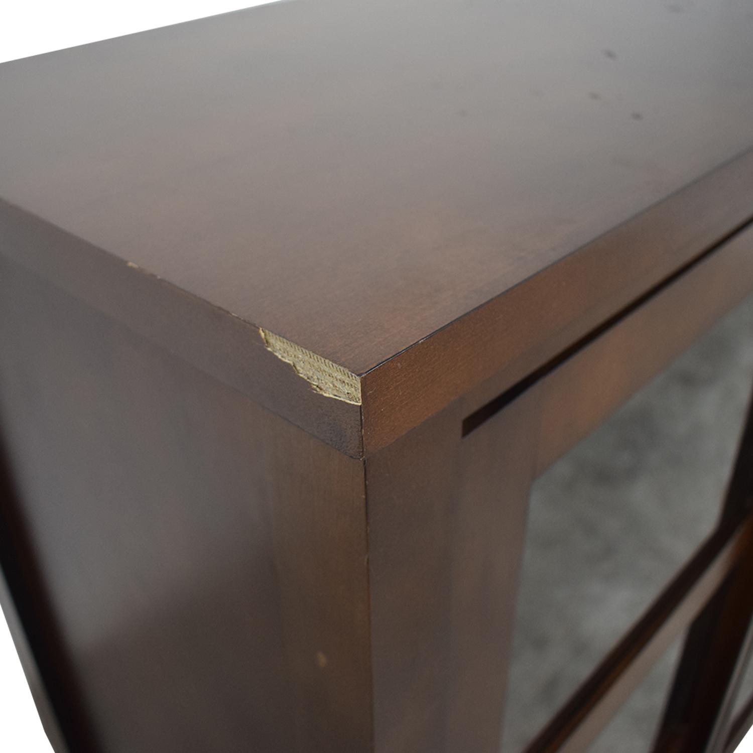 shop Crate & Barrel Media Cabinet Crate & Barrel