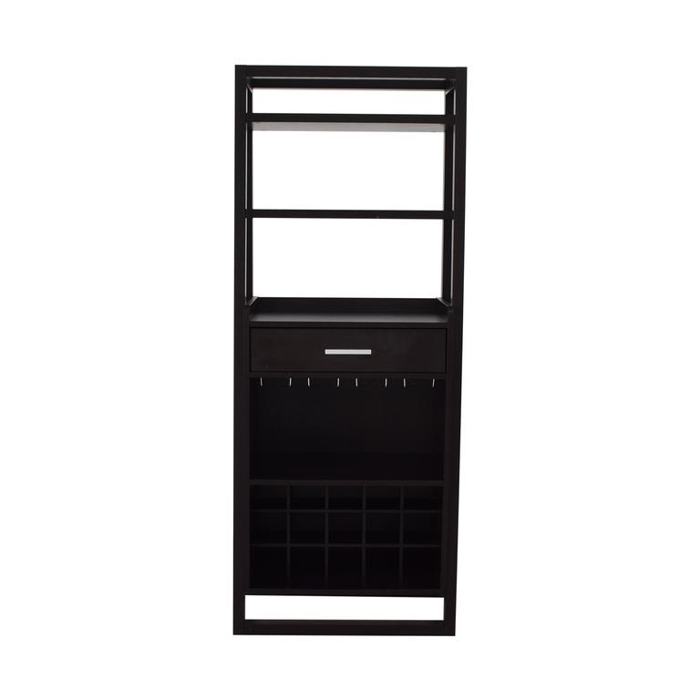 Wood Bar Cabinet on sale