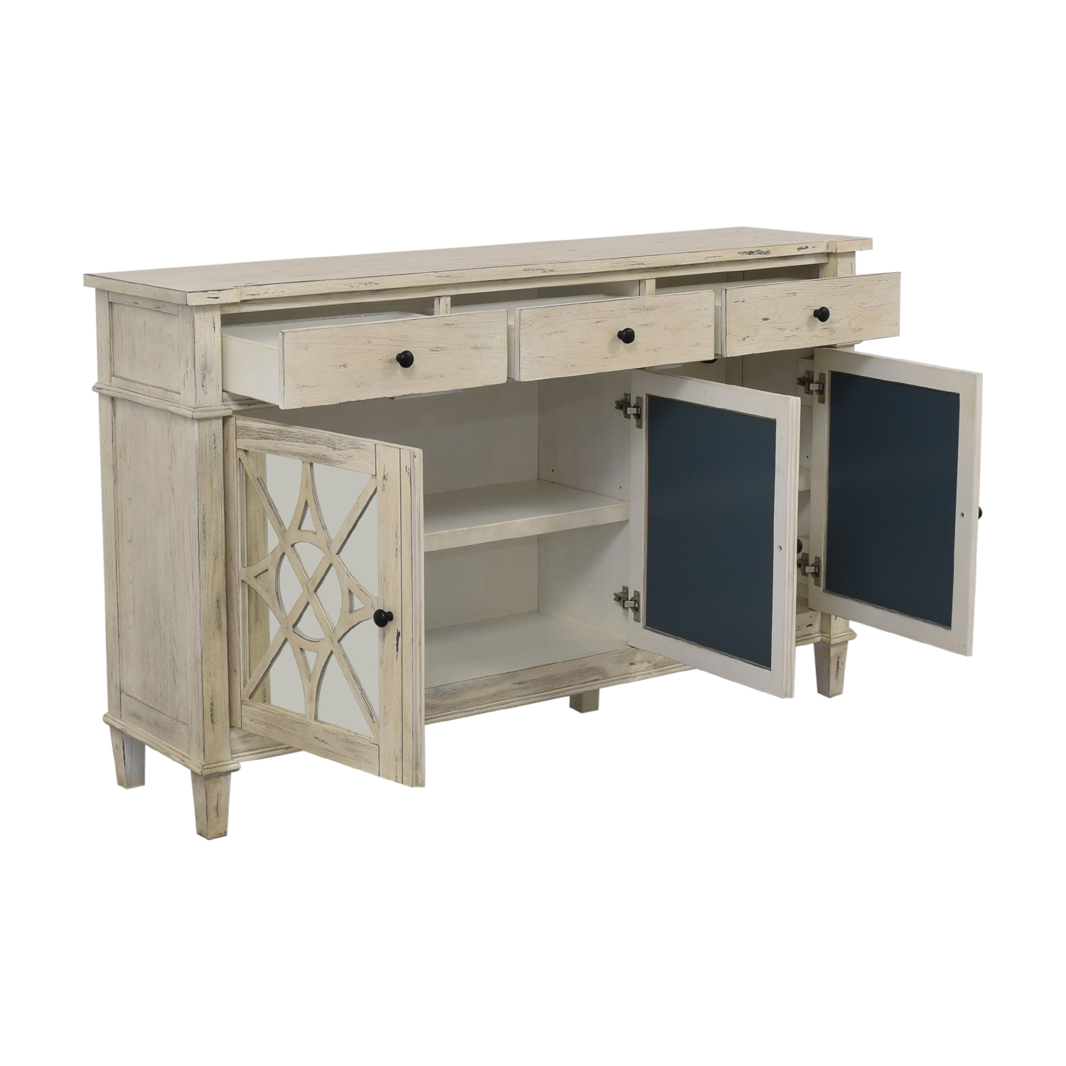 buy Coast to Coast Accents Three Drawer Credenza Coast to Coast Accents