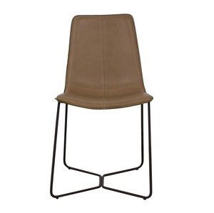 West Elm West Elm Leather Slope Dining Chair price