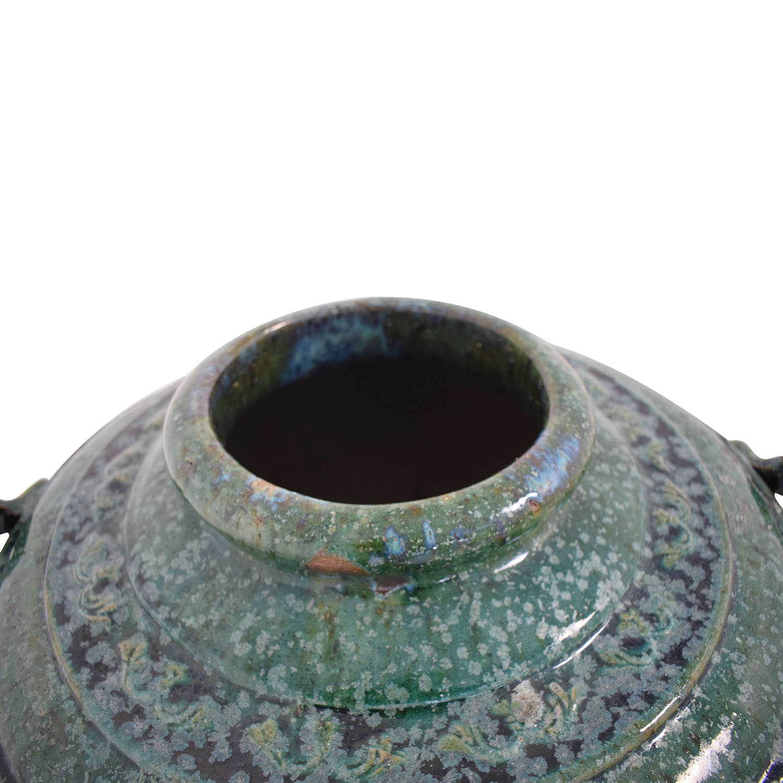 Pottery Barn Pottery Barn Decorative Urn used
