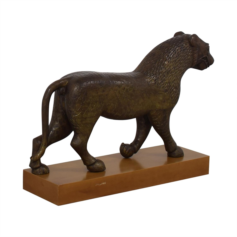 Decorative Lion Statue
