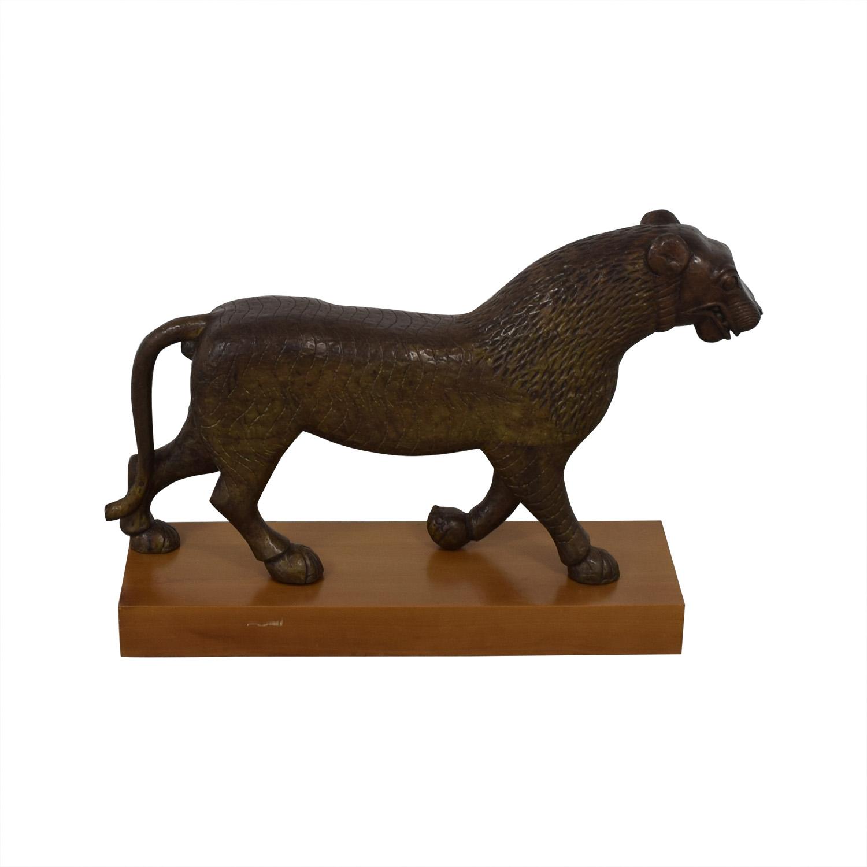 Decorative Lion Statue discount