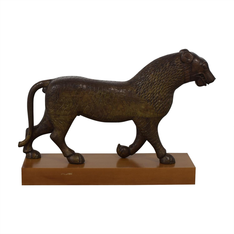 shop Decorative Lion Statue