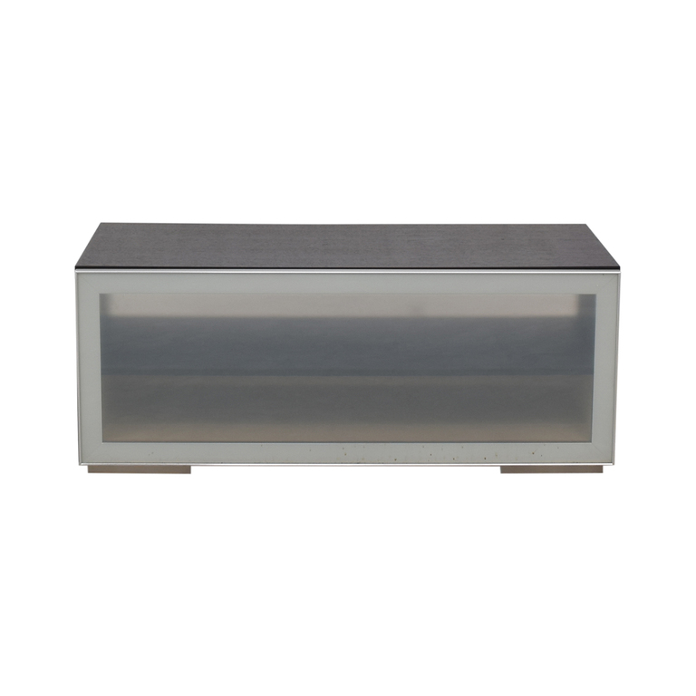 BoConcept BoConcept Glass and Wood Media Console used