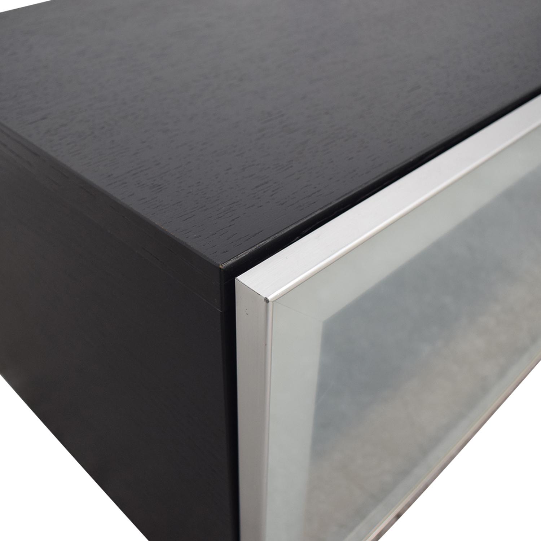 BoConcept BoConcept Glass and Wood Media Console Storage