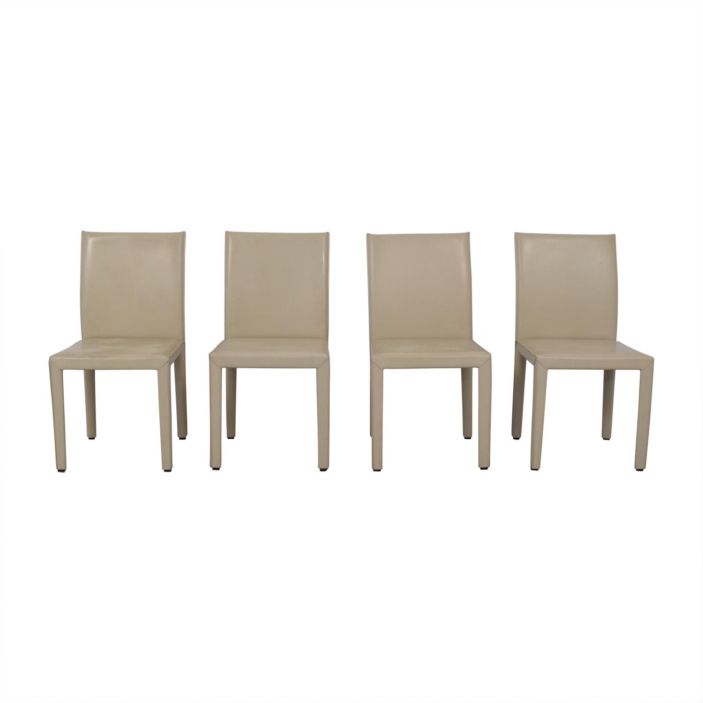 Maria Yee Maria Yee Beige Mondo Chairs nyc