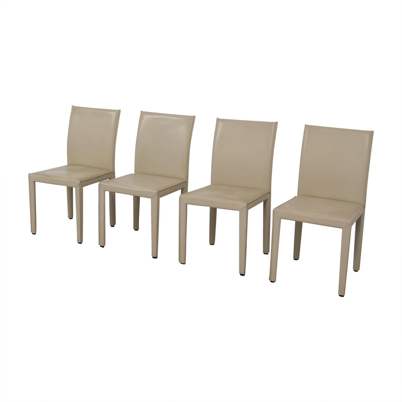 Maria Yee Beige Mondo Chairs sale