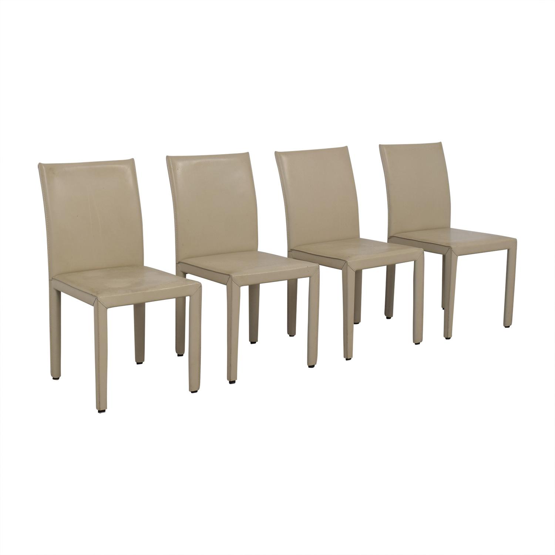 Maria Yee Maria Yee Beige Mondo Chairs on sale