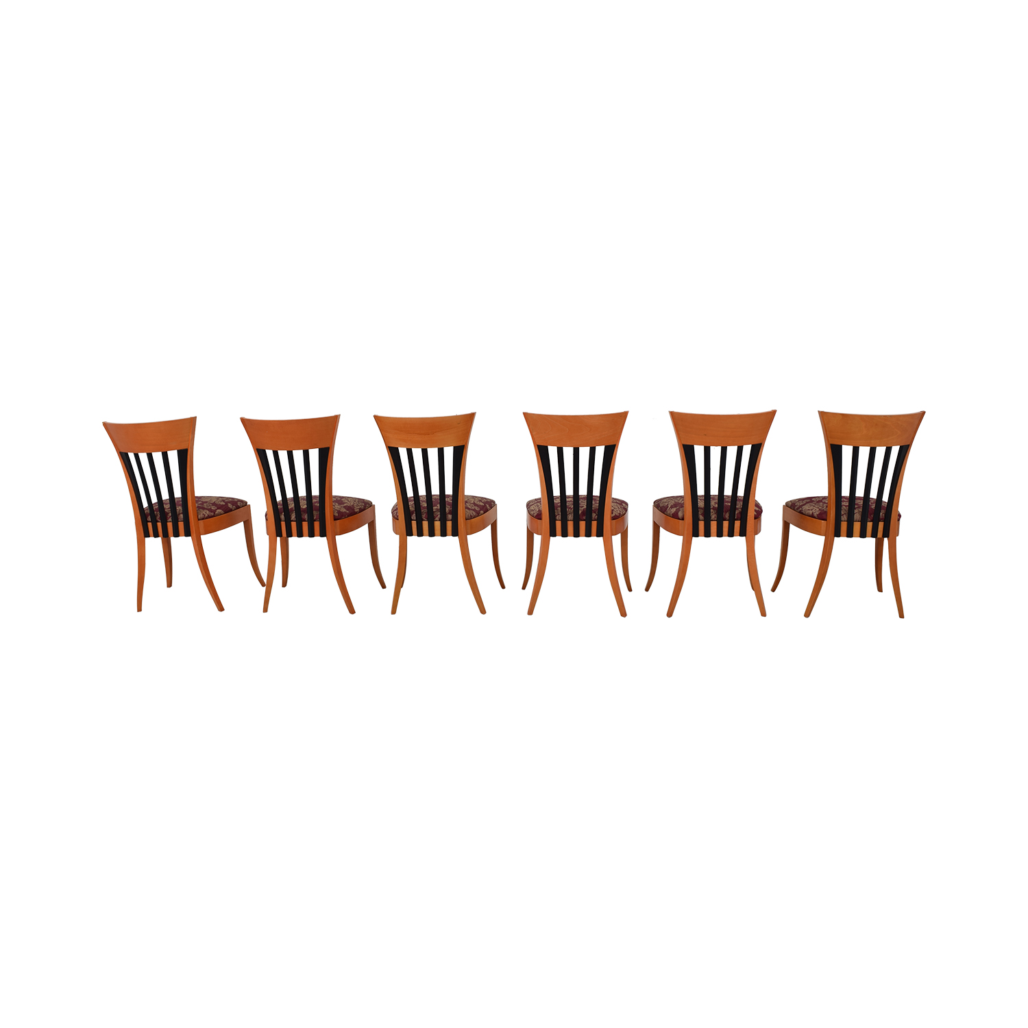 Pace Vintage Dining Chairs dimensions