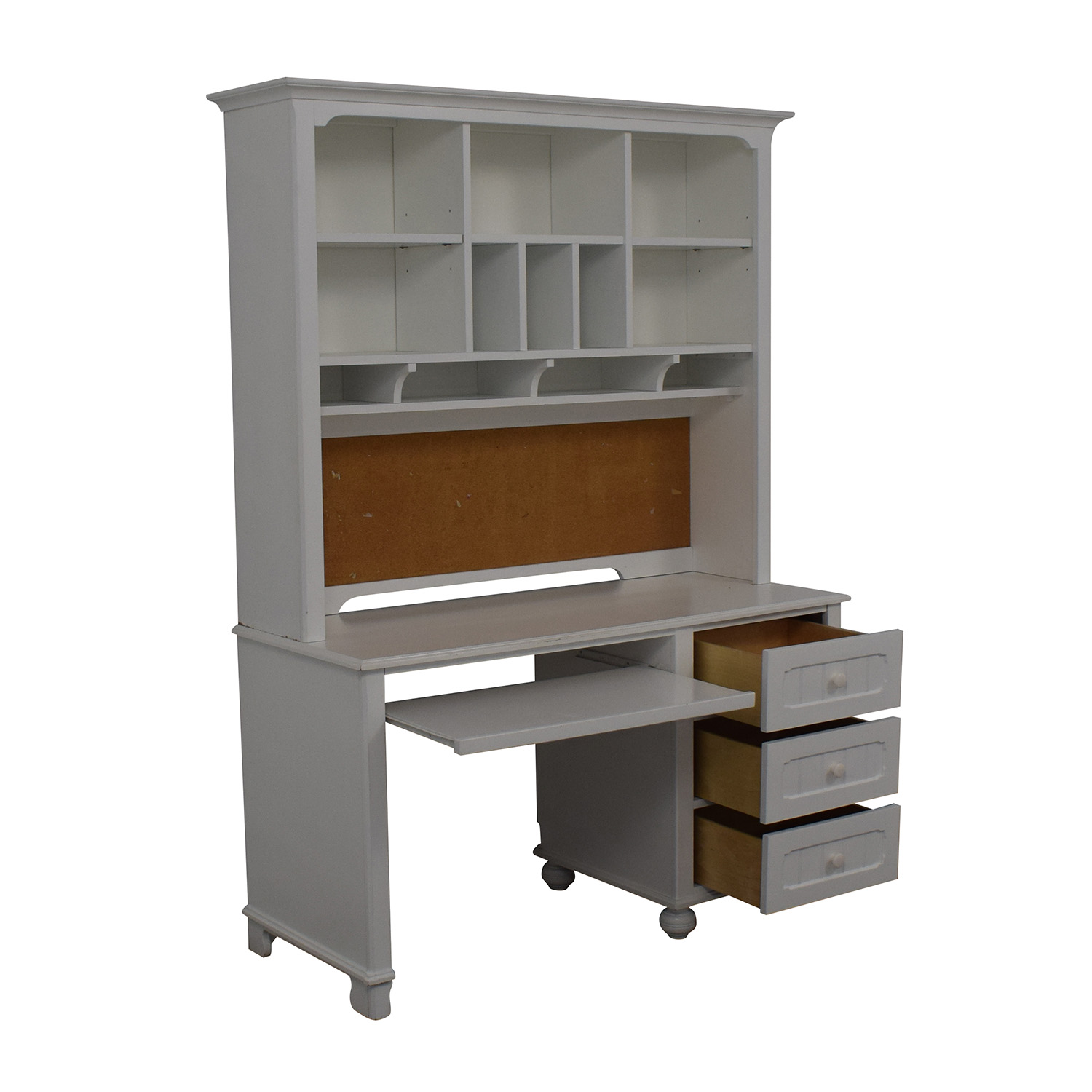 Lea Furniture Lea Furniture Modern Computer Desk and Hutch coupon