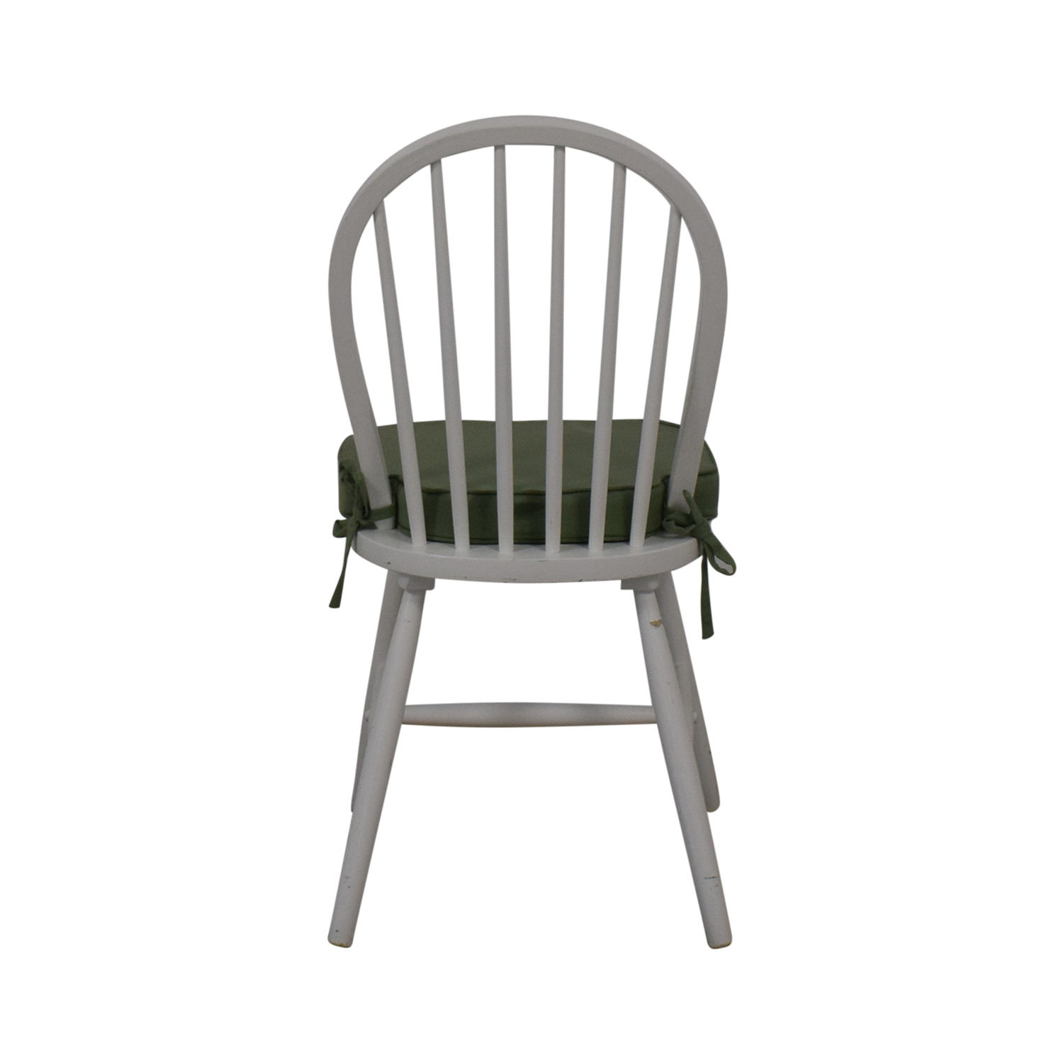 White Farmhouse Style Accent Chair coupon