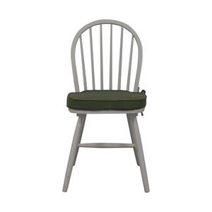 White Farmhouse Style Accent Chair nj