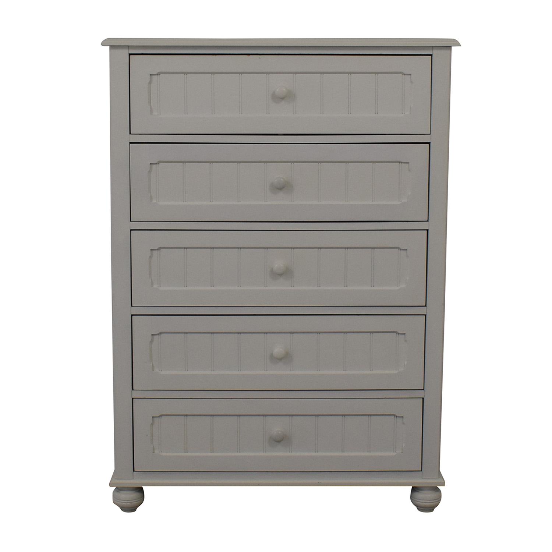 buy Lea Furniture White Chest Of Five Drawers Lea Furniture Storage