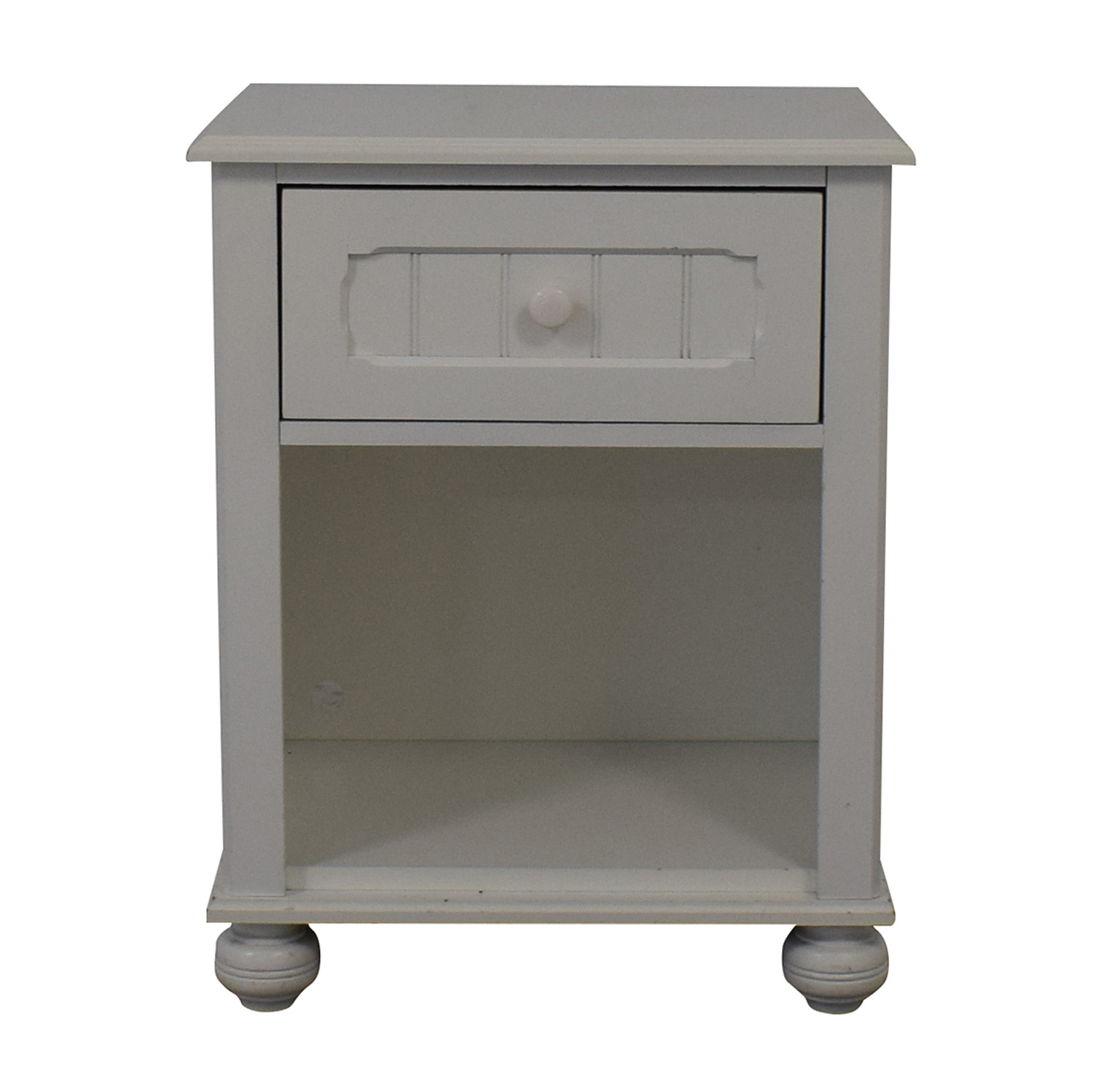 buy Lea Furniture White Single Drawer Nightstand Lea Furniture End Tables