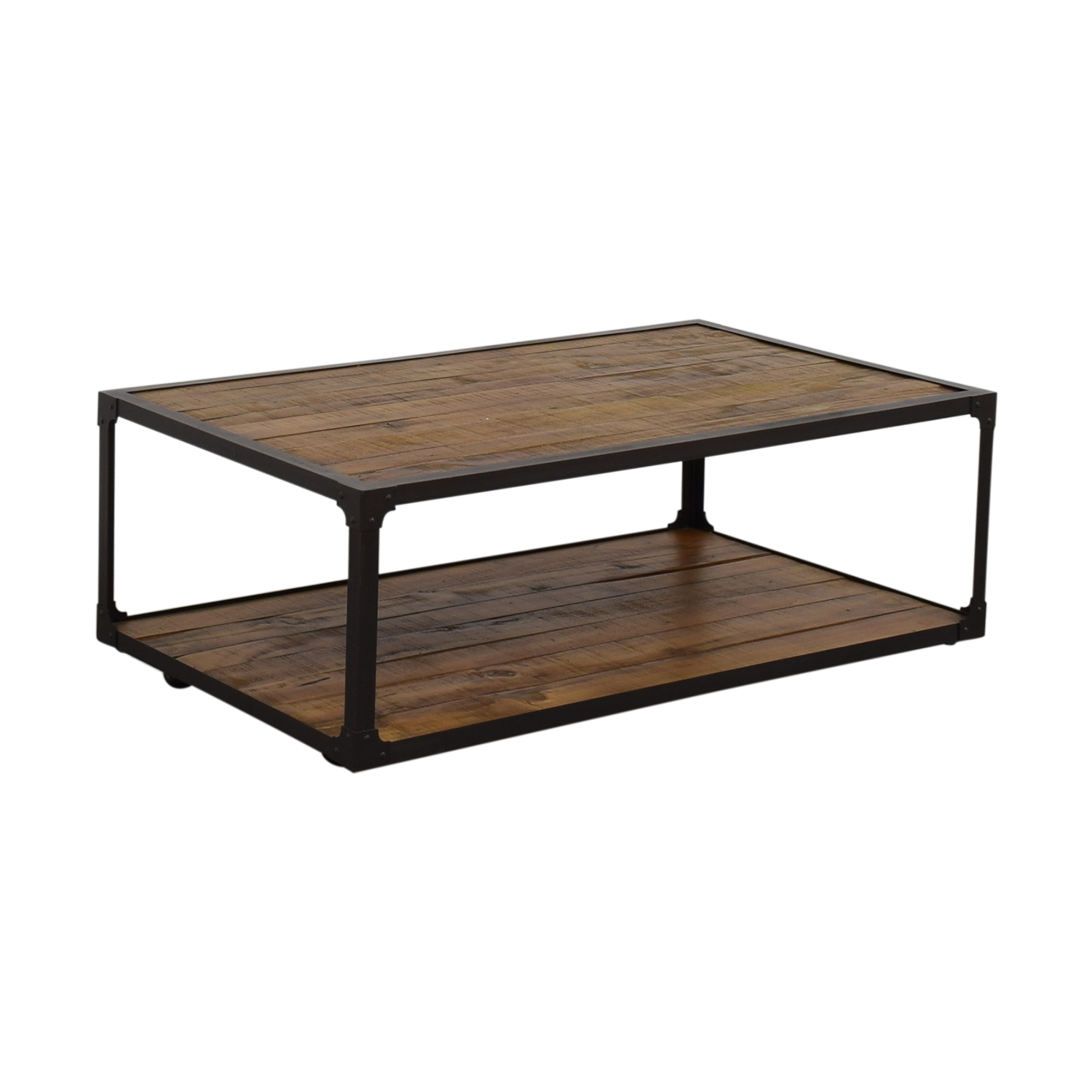 Rustic Wood Coffee Table second hand