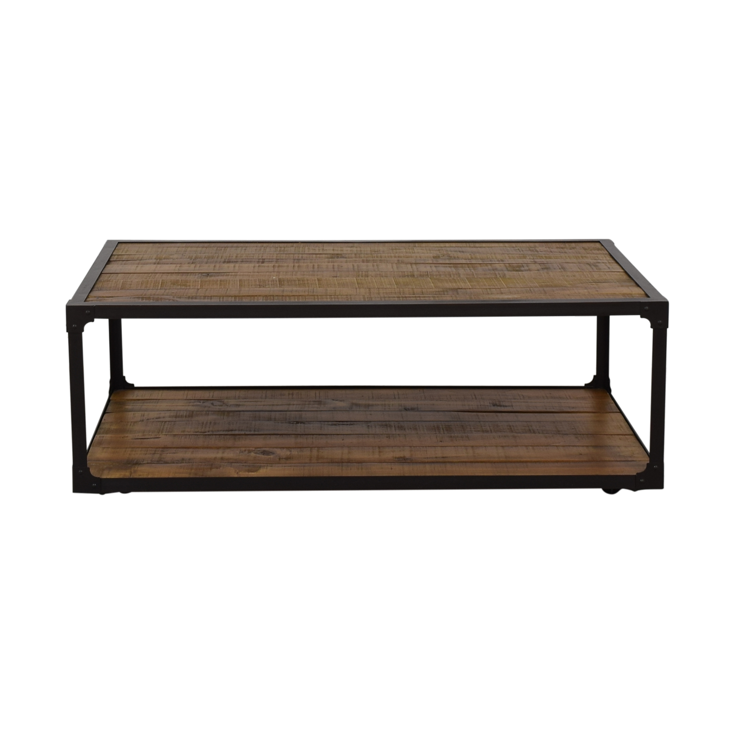 Rustic Wood Coffee Table sale