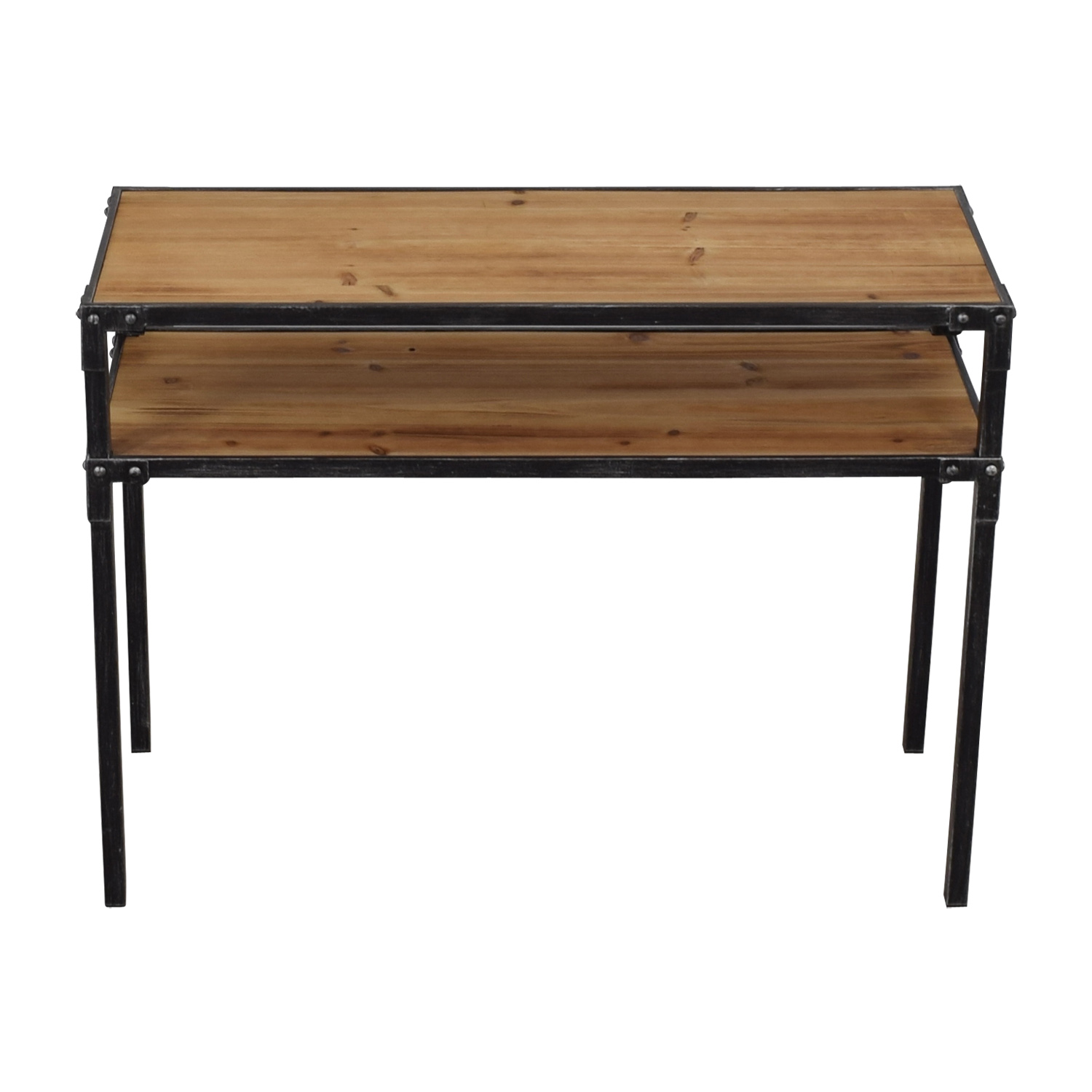 shop Hayneedle Hayneedle Two Tier Console Table online