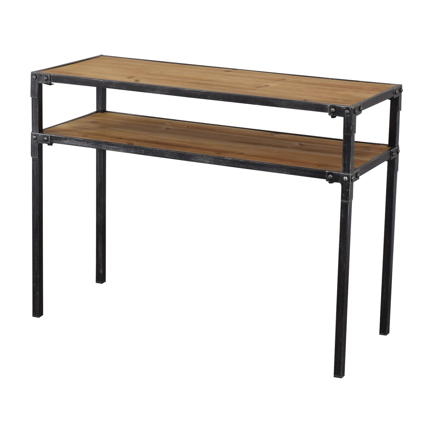 shop Hayneedle Two Tier Console Table Hayneedle Tables