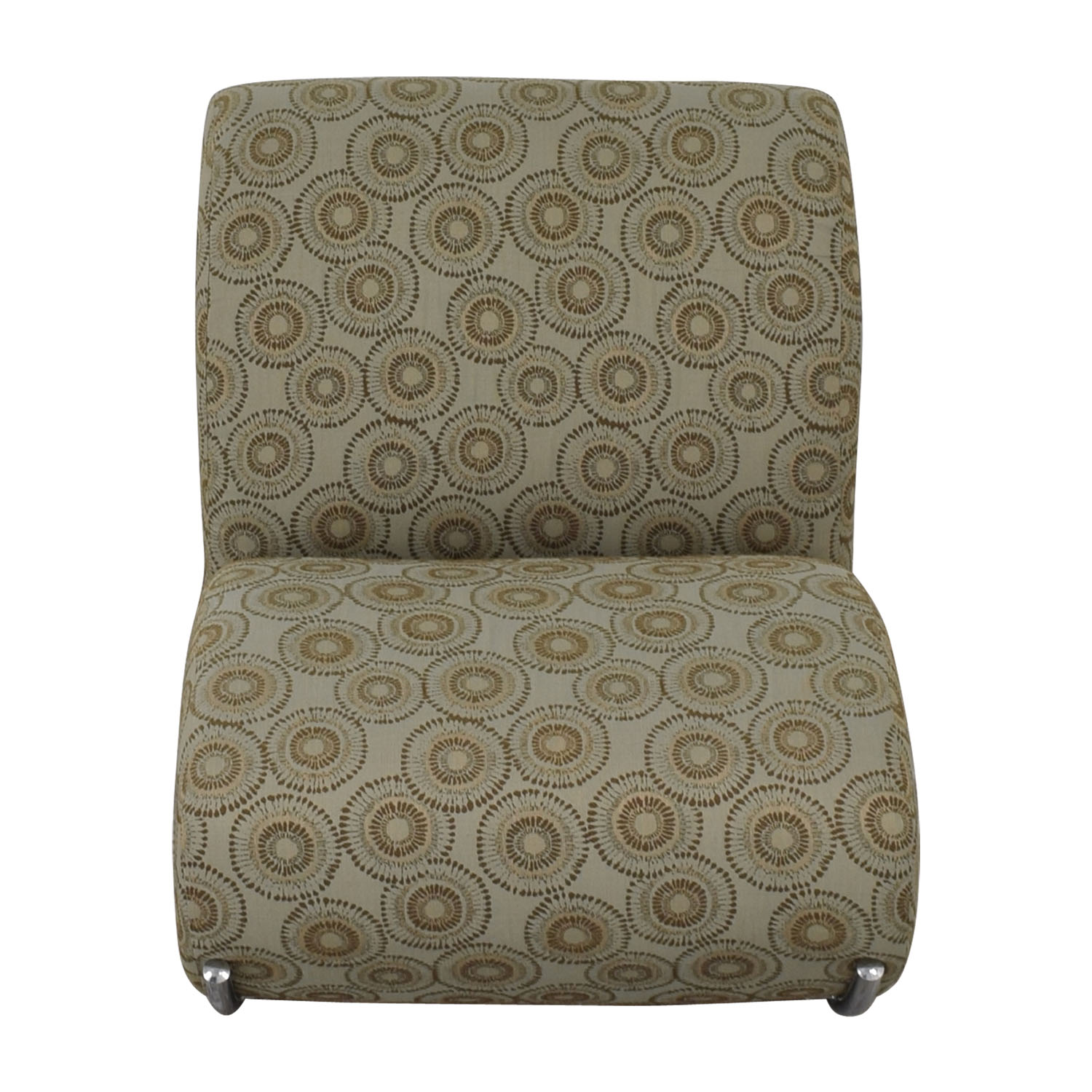 EQ3 EQ3 Upholstered James Rocker Accent Chair used