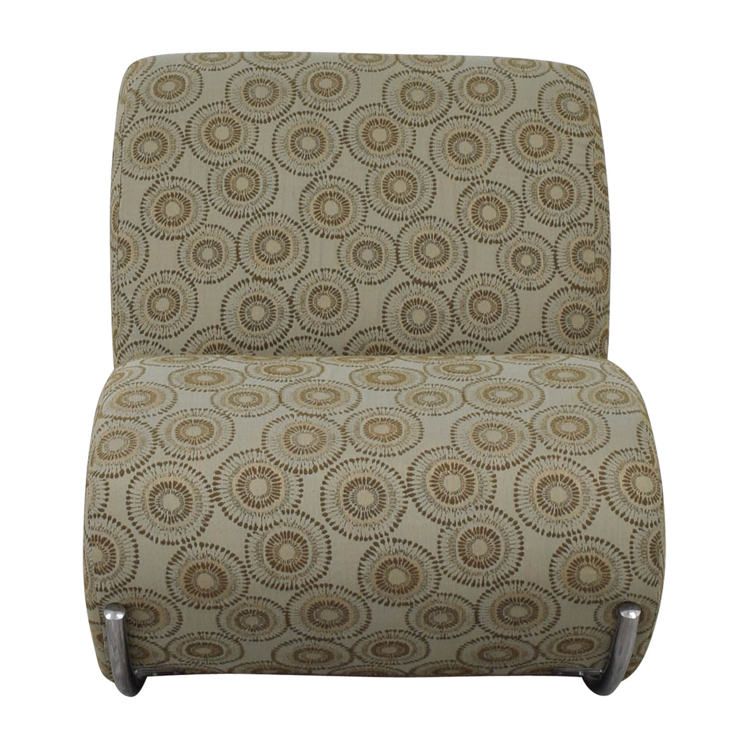 EQ3 EQ3 Upholstered James Rocker Accent Chair for sale