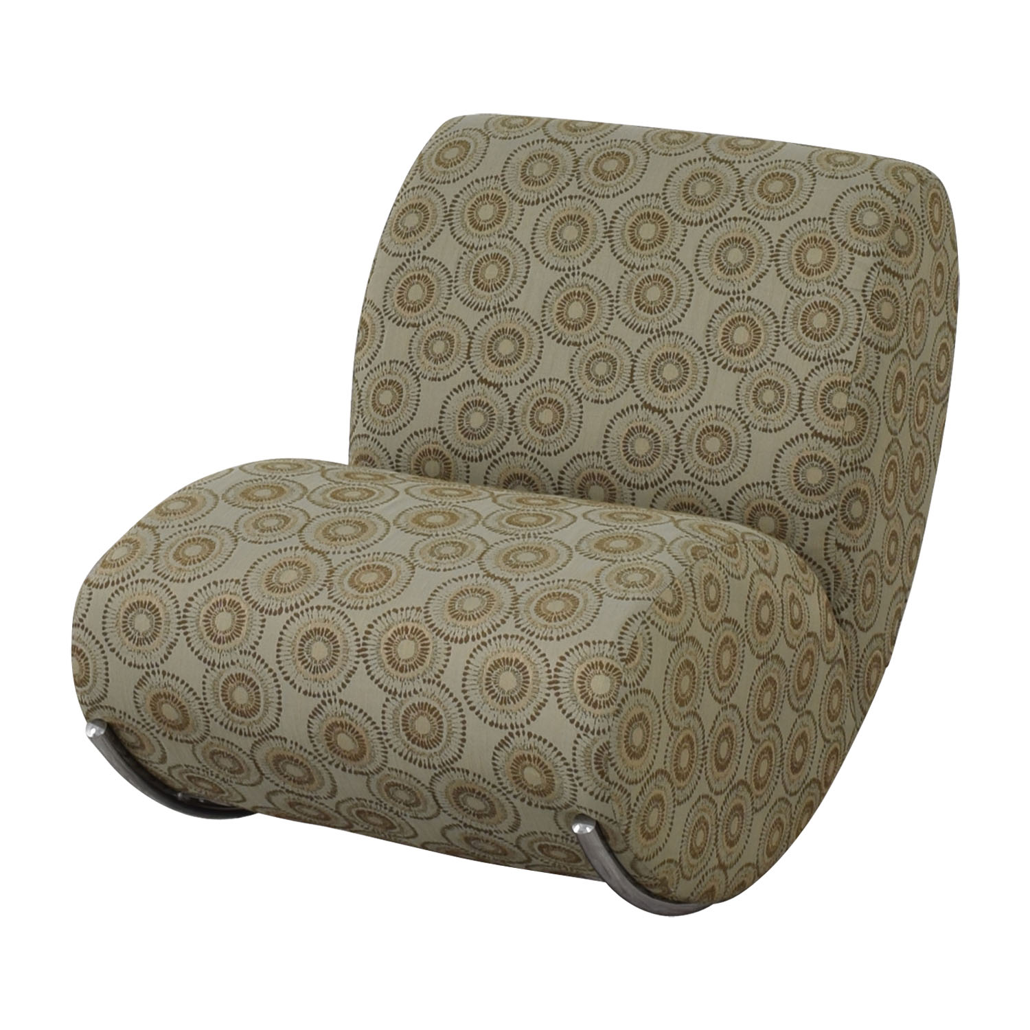 EQ3 EQ3 Upholstered James Rocker Accent Chair Accent Chairs