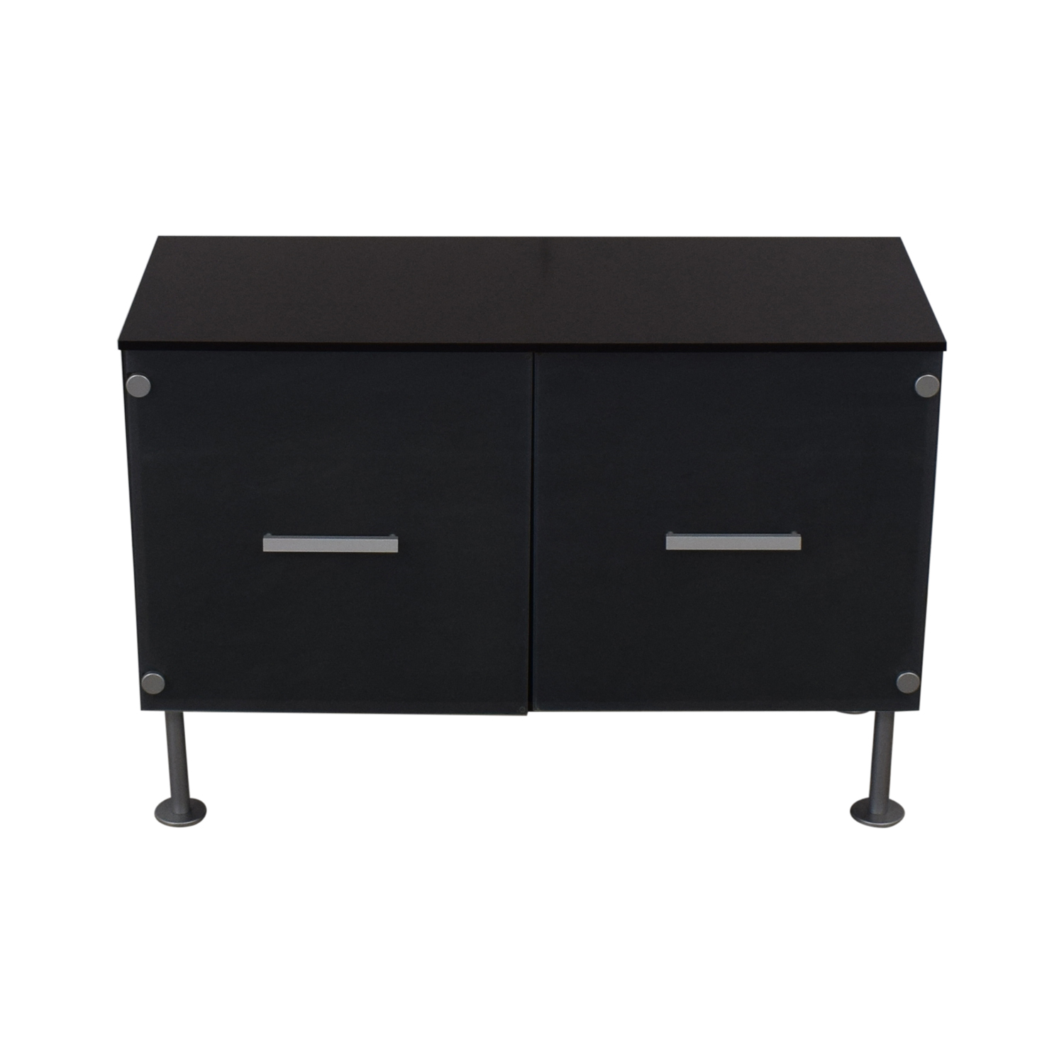 BoConcept Media Console with Frost Doors BoConcept