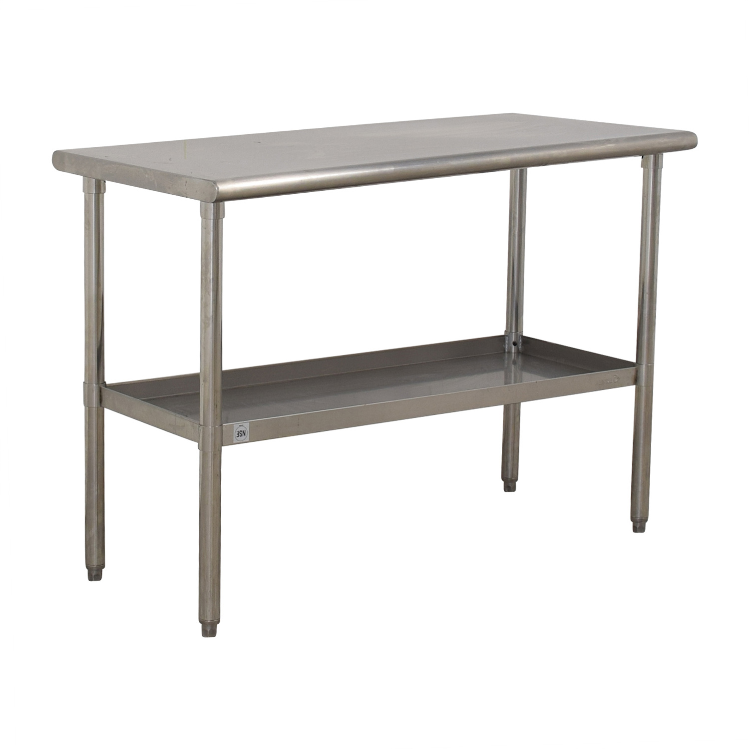 NSF Stainless Preparation Two-Tier Table / Tables