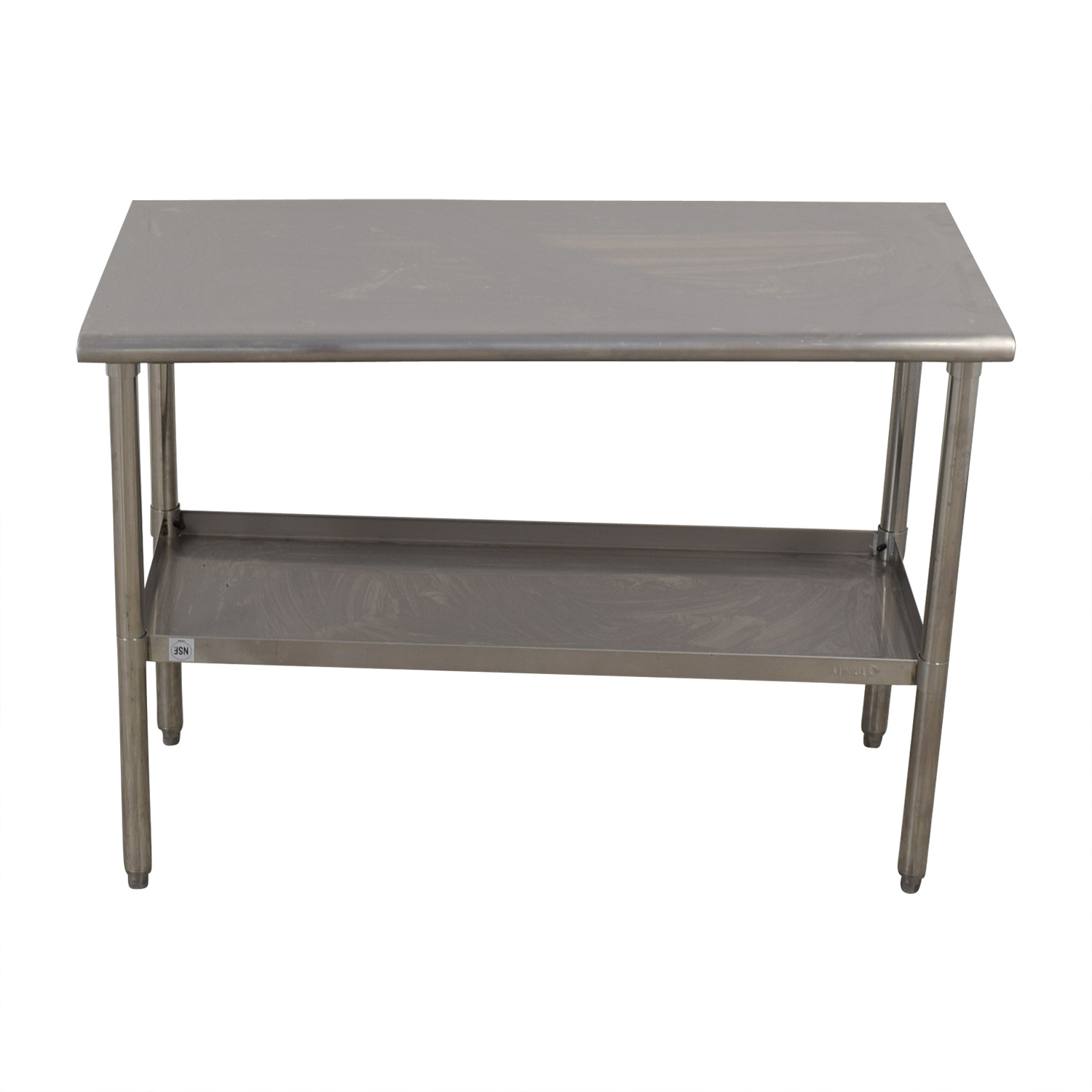 shop NSF Stainless Preparation Two-Tier Table