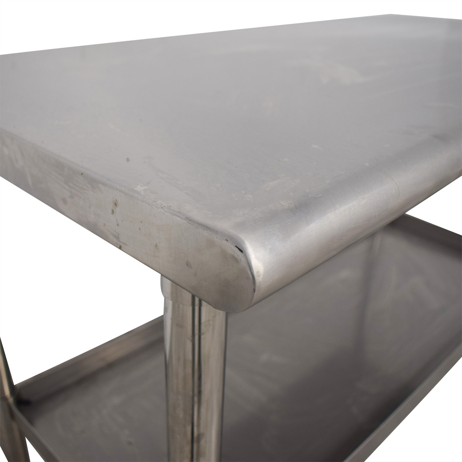NSF Stainless Preparation Two-Tier Table Tables