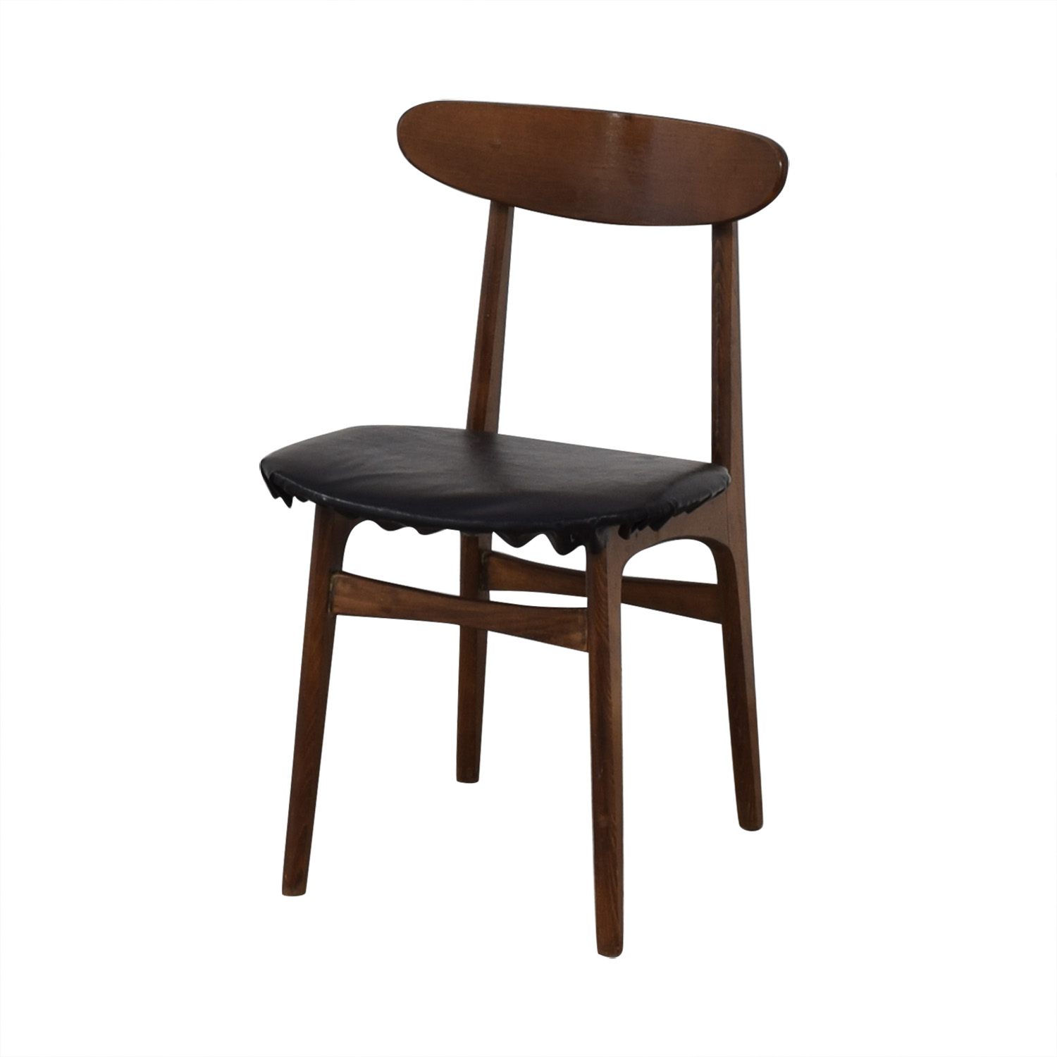 shop Vintage Wood Danish Chair  Dining Chairs