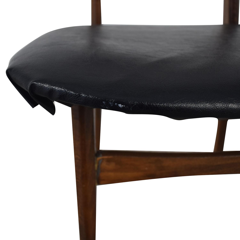 Vintage Wood Danish Chair nj
