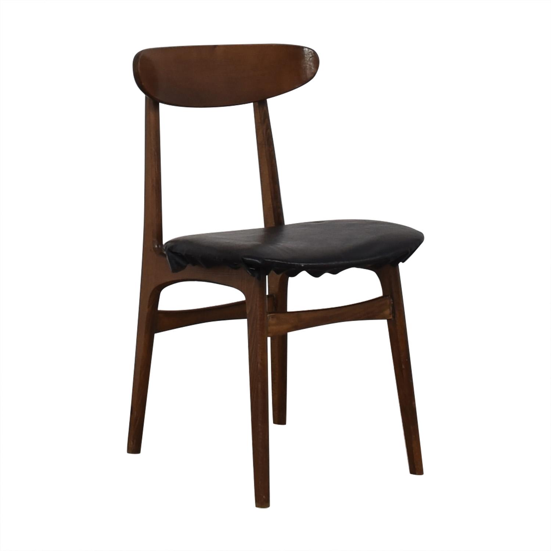 Vintage Wood Danish Chair used