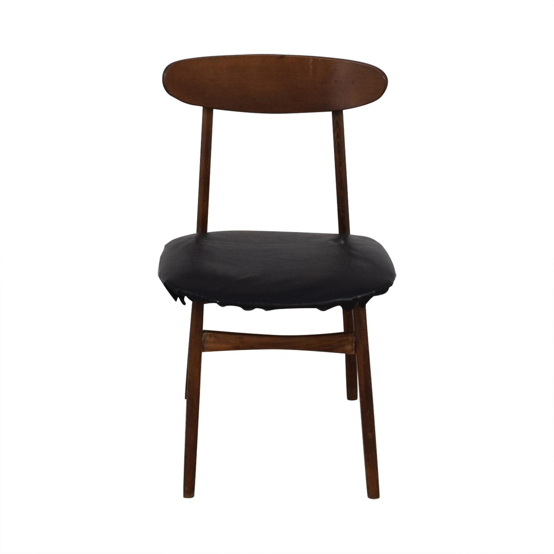 Vintage Wood Danish Chair Chairs
