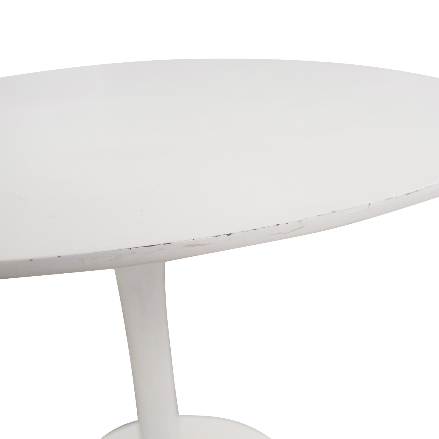 shop White Round Tulip Table  Tables