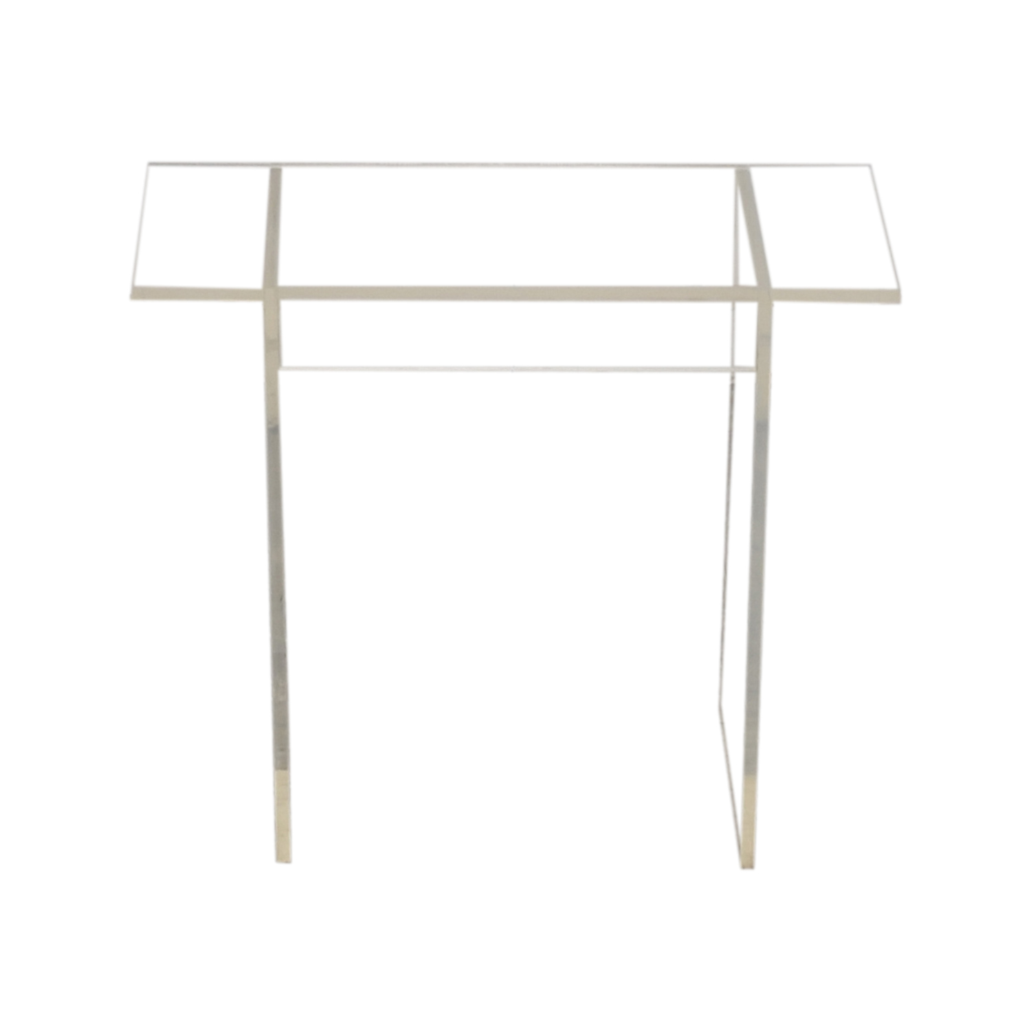 Acrylic Side Table for sale