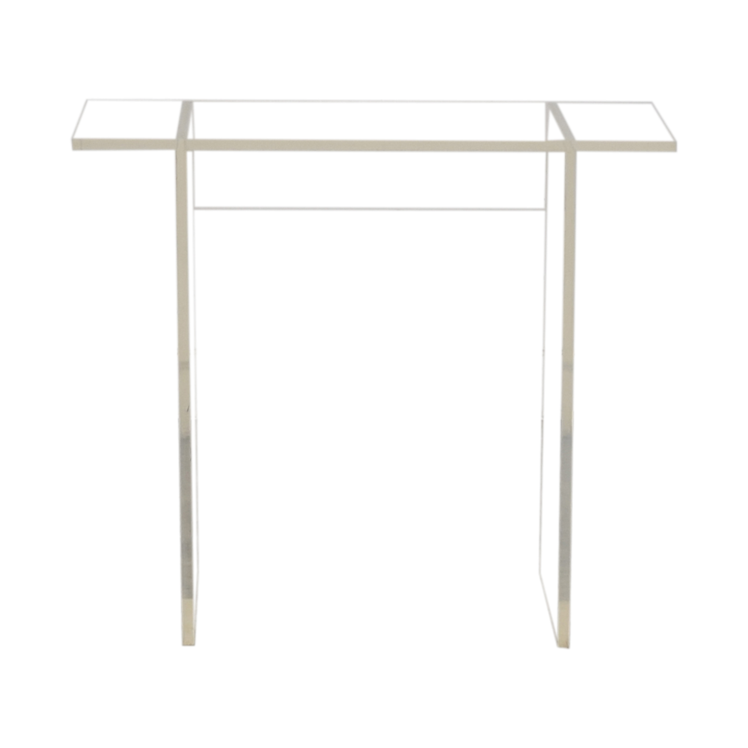 Acrylic Side Table discount
